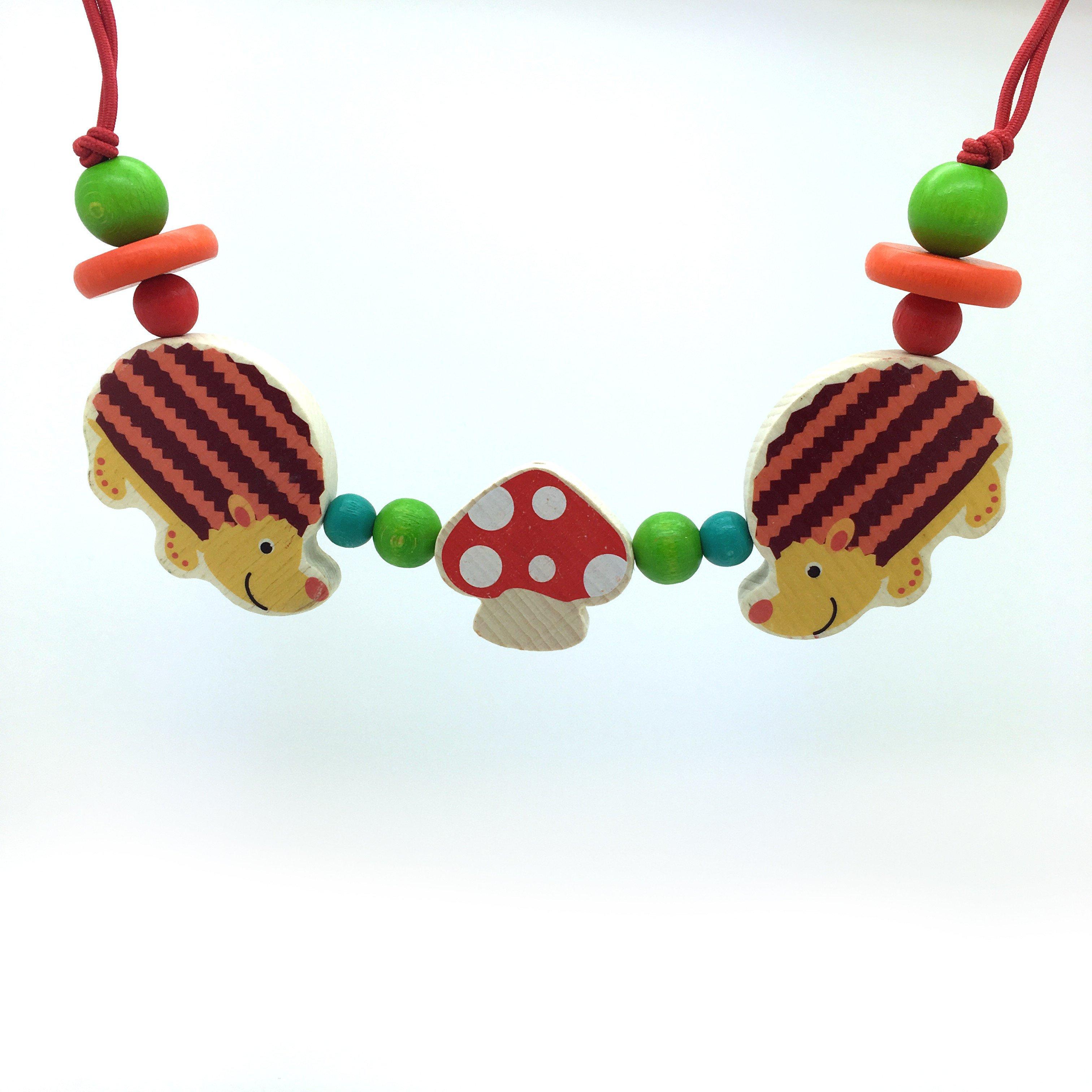 Animal Bead Pram String