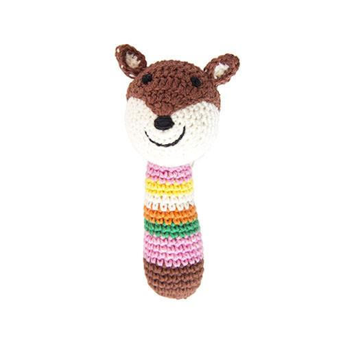 Crochet Country Animal Rattles