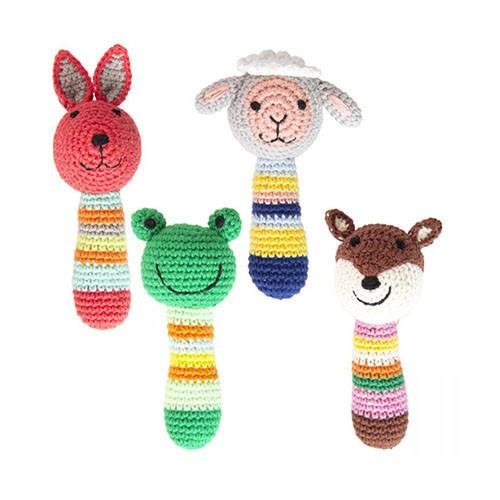 Crochet Country Animal Rattles
