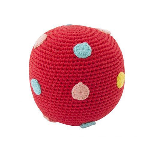 Large Crochet Rattle Ball