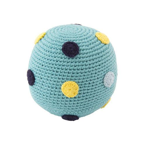 Large Crochet Rattle Ball