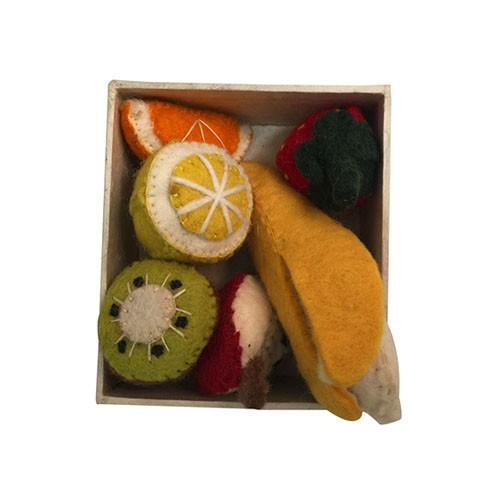 Mini Fruit Felt Play-Set