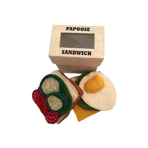 Sandwich and Fillings Felt Play-Set