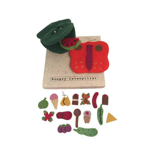 The Hungry Caterpillar Story, Puppet and Food