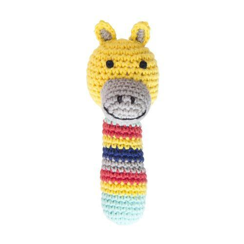 Crochet Safari Animal Rattles