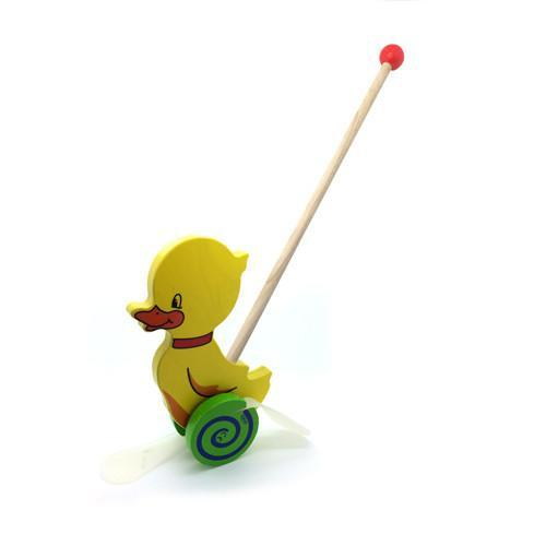 Push Along Toy - Duck
