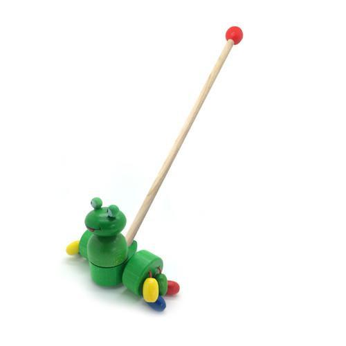 Push Along Toy - Frog
