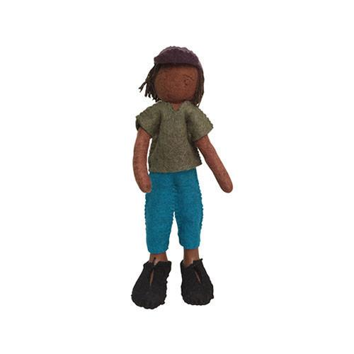 Felt Doll- Aba from Chile