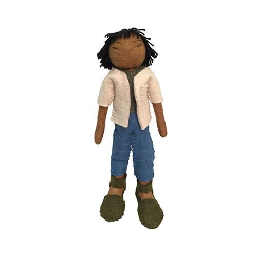 Felt Doll- Aizan from China