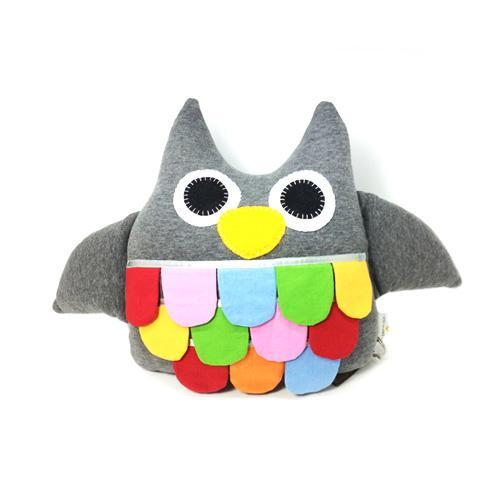 Hoot the Owl- Grey