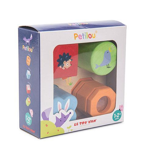 Petilou 4 Piece Sensory Tray Set