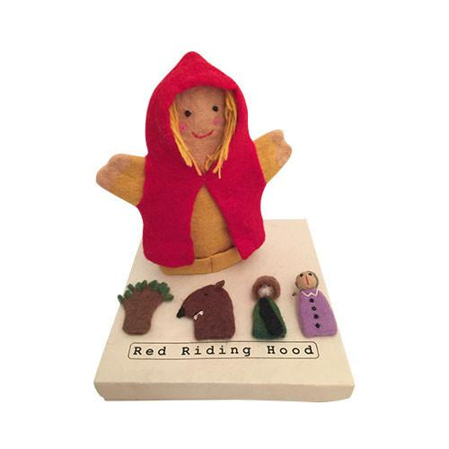 Little Red Riding Hood and Puppets